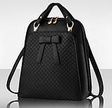 Великий жіночий рюкзак сумка, фото 8