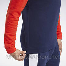 Свитшот мужской Reebok Training Essentials Fleece Crew FS8473 2021/D, фото 2