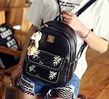 Жіночий рюкзак сумочка гаманець візитниця набір комплект рюкзачок сумка гаманець, фото 5