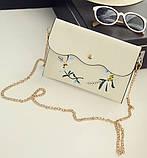 Жіночий рюкзак сумочка гаманець візитниця набір комплект рюкзачок сумка гаманець, фото 6