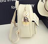 Жіночий рюкзак сумочка гаманець візитниця набір комплект рюкзачок сумка гаманець, фото 7