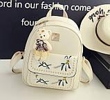 Жіночий рюкзак сумочка гаманець візитниця набір комплект рюкзачок сумка гаманець, фото 10