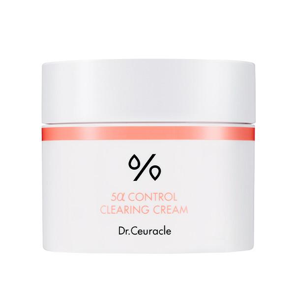 Себорегулирующий крем  Dr.Ceuracle 5α Control clearing cream, 50 мл