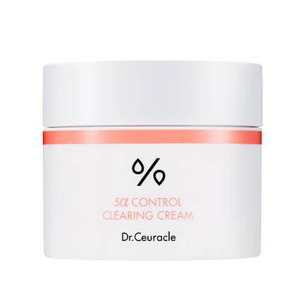 Себорегулирующий крем  Dr.Ceuracle 5α Control clearing cream, 50 мл, фото 2