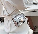 Модна жіноча міні сумочка клатч, фото 6