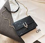 Модна жіноча міні сумочка клатч, фото 7