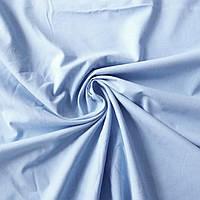 Тканина бязь однотонна блакитна, ш. 160 см, фото 1