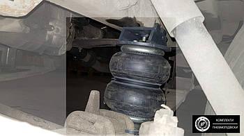 Комплект пневмоподвески Газель передняя от 2994 года. Пневмоподвеска Газель дополнительная..