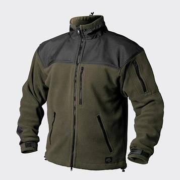Куртка флисовая Classic Army Helikon tex хаки/черная