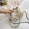 Мини сумка с замком поцелуйчик, фото 4