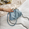 Мини сумка с замком поцелуйчик, фото 3