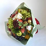 Букет з фруктів і квітів Альстромерій. Харків