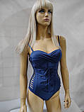 6Купальник  слитный SISIANNA   31806 Даниэла голубой(в наличии   44 46 48 50 52 размеры), фото 6