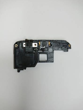 Слуховой динамик с аудио разъемом в корпусе  Samsung Galaxy Star G350E оригинал б.у., фото 2