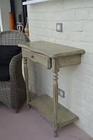 Консольный столик с двумя ножками