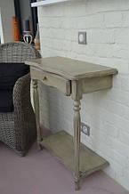 Консольний столик з двома ніжками