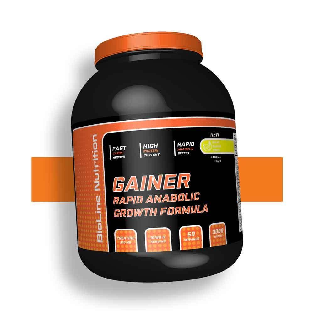 Гейнер с креатином для набора веса BioLine Nutrition Германия   3 кг   50 порций