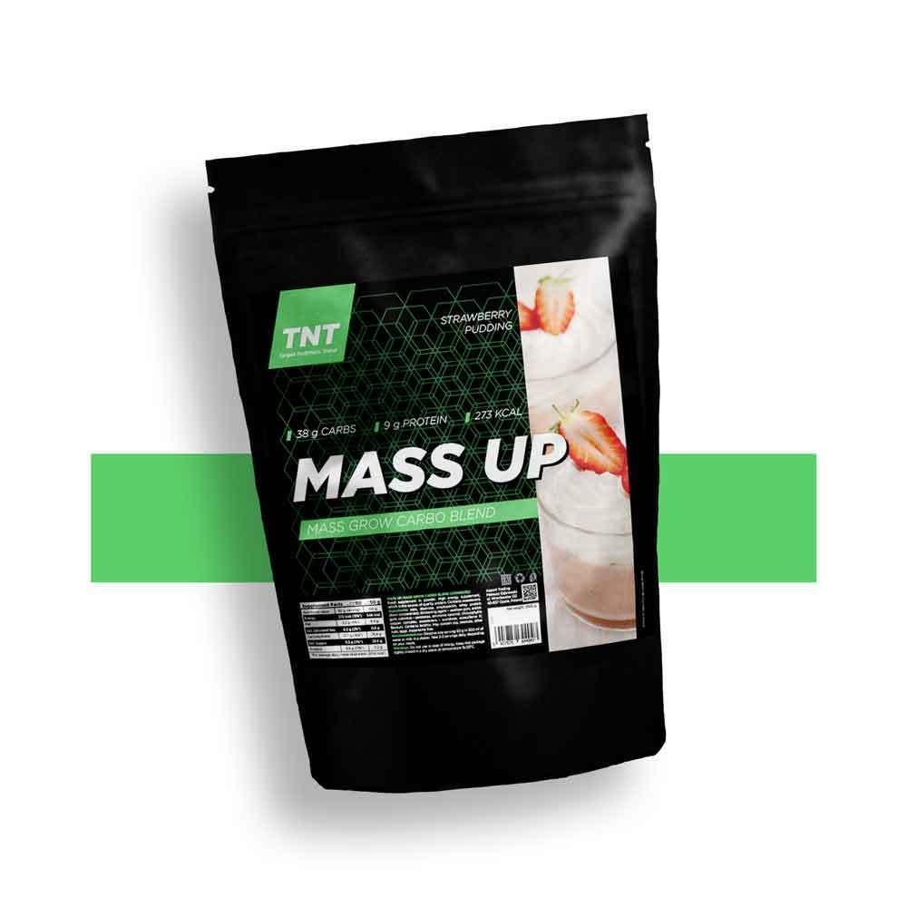 Гейнер высокобелковый для набора массы MASS UP TNT Польша | 2.5 кг | 50 порций
