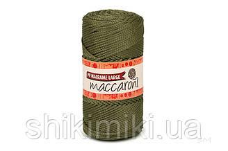 Трикотажний шнур поліпропіленовий PP Macrame Large 3 mm, колір світлий Хакі