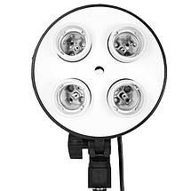Комплект студійного світла на 4 лампи(Софтбокси 50х70 см), фото 3