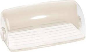 Хлебница пластиковая кремовая 388Х255Х160 мм Curver CR-0102-1