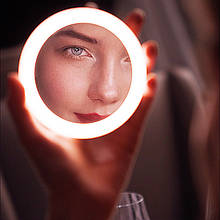 Зеркало светодиодное LED для макияжа Код 11-7922