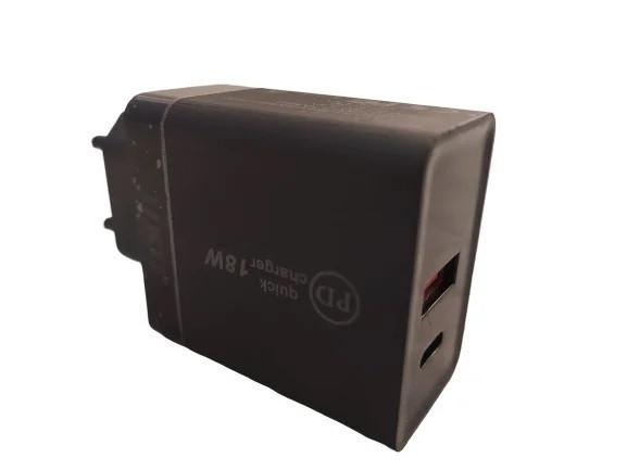 Адаптер 220V USB/TYPE C