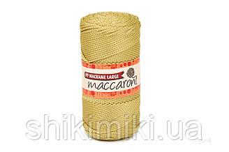 Трикотажный шнур PP Macrame Large 3 mm, цвет Манго