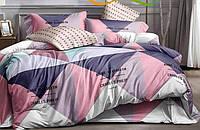 Двоспальний постільний комплект -  Ромби Елізабет