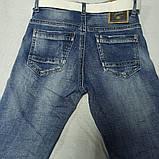 Джинсы демисезонные модные красивые оригинальные рваные для мальчика. По поясу регулирующая резинка., фото 2