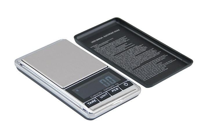 Ювелирные Карманные Весы Digital Scale 0.01-1000 Г С Чехлом