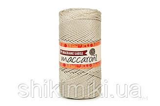 Трикотажный шнур PP Macrame Large 3 mm, цвет Латте