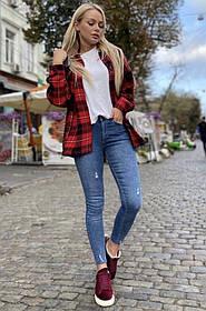 Джинсы женский МОМ, Женский джинсы с высокой талией