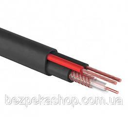 Одескабель КВК-П-2+2х0,75 комбинированный кабель (коаксиальный + силовой) наружный