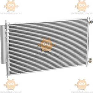 Радиатор кондиционера Accord 2.0, 2.4 (от 2003г) АКПП, МКПП с ресивером (пр-во Luzar Россия) ЗЕ 46360