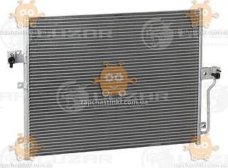 Радіатор кондиціонера Actyon, Kyron 2.0, 2.3 (від 2005р) АКПП, МКПП (пр-во Luzar Росія) ЗЕ 39324