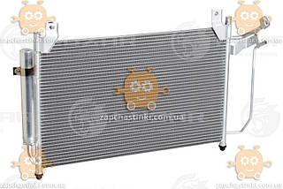 Радіатор кондиціонера CX-7 2.3 i, 2.5 i (від 2007) МКПП, АКПП (пр-во Luzar Росія) ЗЕ 52906