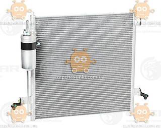 Радиатор кондиционера L200 2.5TD (от 2006г) АКПП, МКПП (пр-во Luzar Россия) ЗЕ 40273