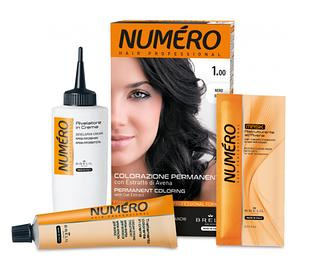 Стойкая краска для волос Brelil Numero