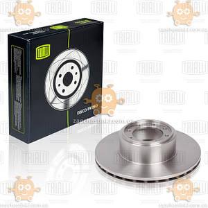 Диск тормозной Задний Iveco Daily V 35C 40C 50C-Mod d=294 thk=24 PCD-8/108 (TRIALLI Италия) ЗЕ 00003870