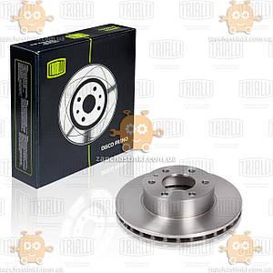 Диск тормозной передний Iveco Daily V 29L-Mod d=300 thk=28 PCD-6/125 (пр-во TRIALLI Италия) ЗЕ 00003880