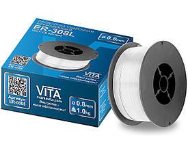 Дріт VITA ER-308L нержавійка 1 кг 0,8 мм