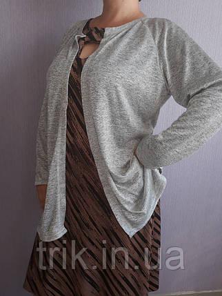Кардиган серый, фото 2