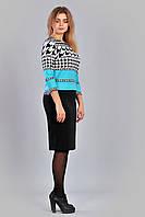 Модный женский комплект из французского трикотажа