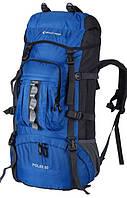 Удобный мужской рюкзак для путешествий 60 л. KingCamp POLAR (KB3304) Blue синий