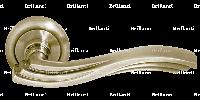 Дверные ручки на круглой розетке BRILLANTI AL-073 SN (матовый никель)