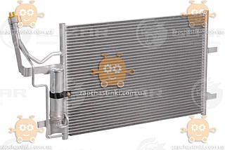 Радіатор кондиціонера з ресивером Mazda 3 (від 2003р), 5 (від 2005) (пр-во Luzar Росія) ЗЕ 004054