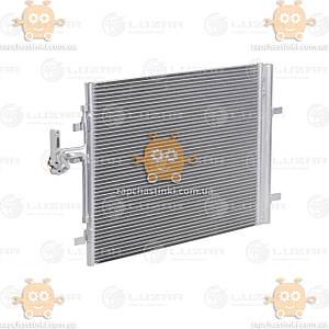 Радиатор кондиционера с ресивером Volvo S60 (от 2010г), S80 (от 2006г) (пр-во Luzar Россия) ЗЕ 00004067