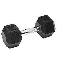 Гантель обгумована SPART 30 кг, фото 1