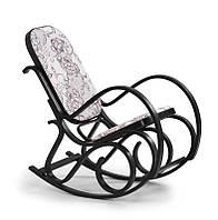 Крісло-гойдалка MAX 2 горіх (Halmar)